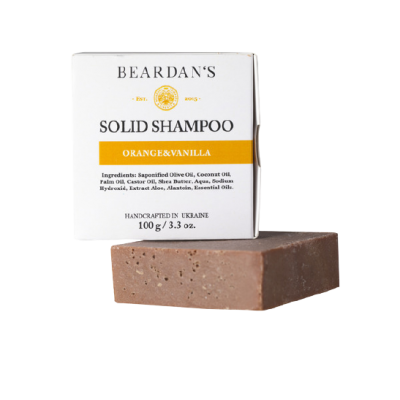 BEARDAN*S шампунь Solid Orange&Vanilla 100g\3,3oz
