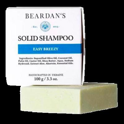 BEARDAN*S шампунь Solid Easy Breezy
