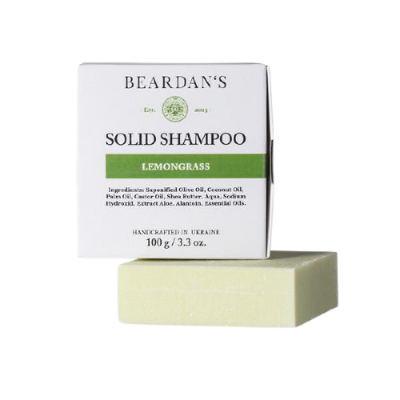 BEARDAN*S шампунь Solid Lemongrass