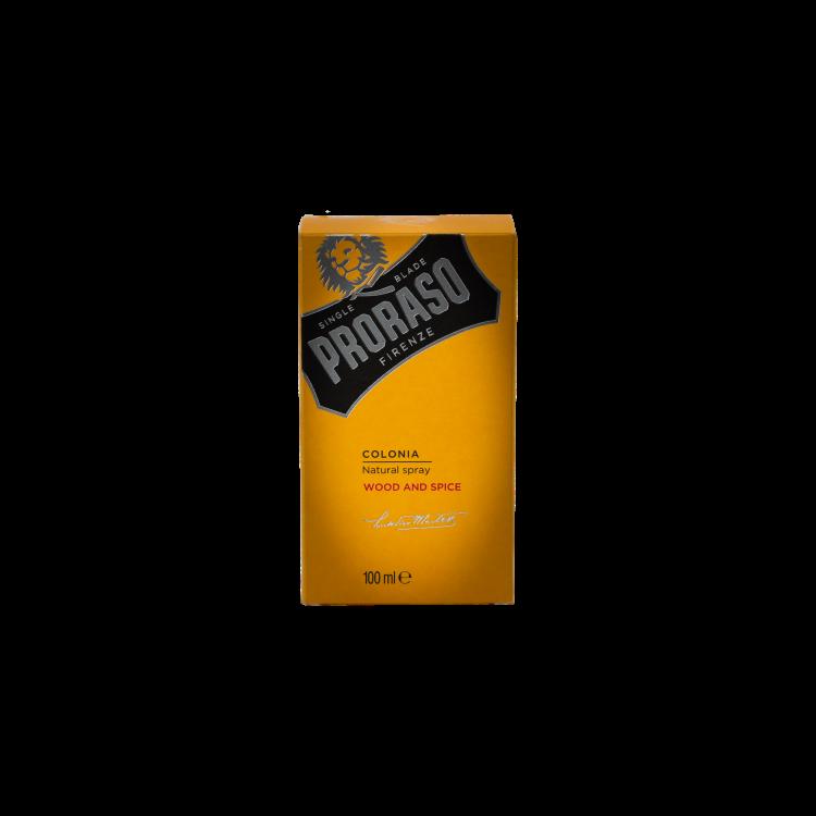 Одеколон Proraso Wood & Spice Cologne 100 ml