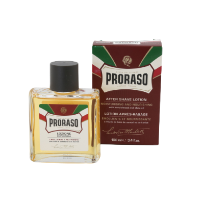 PRORASO After Shave Lotion Moisturising and Nourishing 100 ml