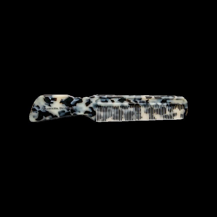 Гребень для волос SuaVecito Black Ivory Handle Comb