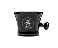 Кружка для бритья SuaVecito Premium Blends Shave Mug Black