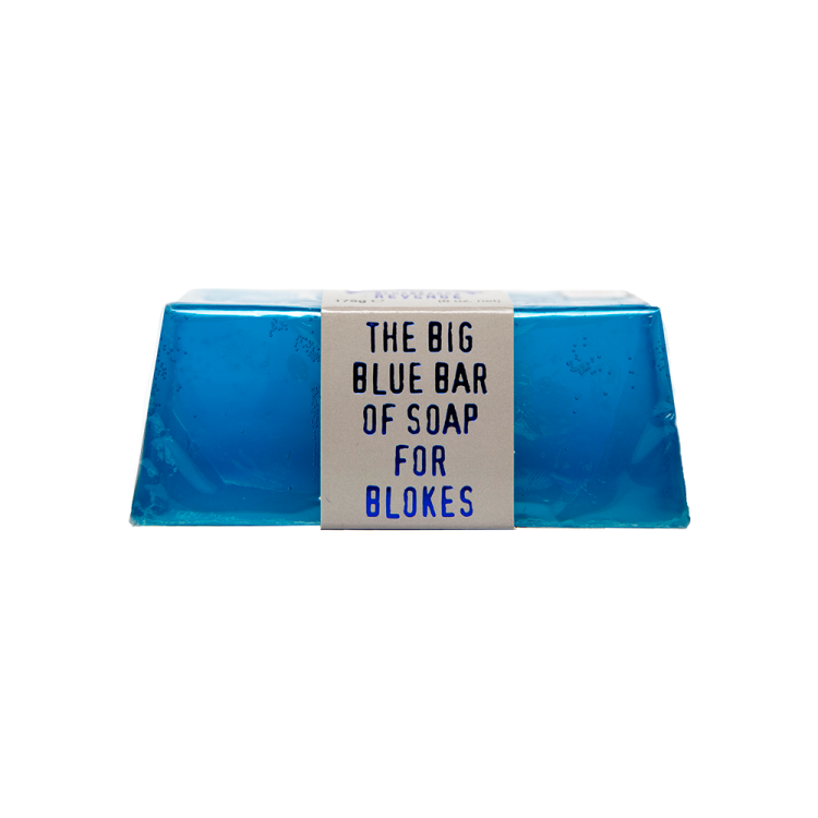 Мыло для лица The Bluebeards Revenge Blue Soap
